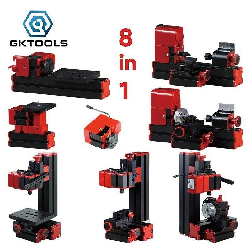 Z8000 8 in 1 Kit, DIY 24W Grundlegende Mini drehmaschine kit, 24W 20, 000r/min, Standardisierte kinder bildung, BESTE Geschenk
