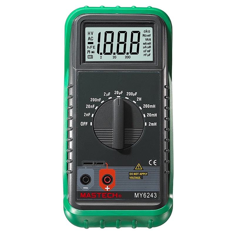 portable digital inductance tester / capacitance table maximum display 1999 LC Meter mastech my6243 3 1 2 1999 count digital lc c l meter inductance capacitance tester