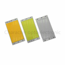 1/5/10pcs/Lot DC12V-14V 94x50mm  15W LED COB Chip On Board Warm Pure white Cool White Blue Lighting Source for DIY Bulb