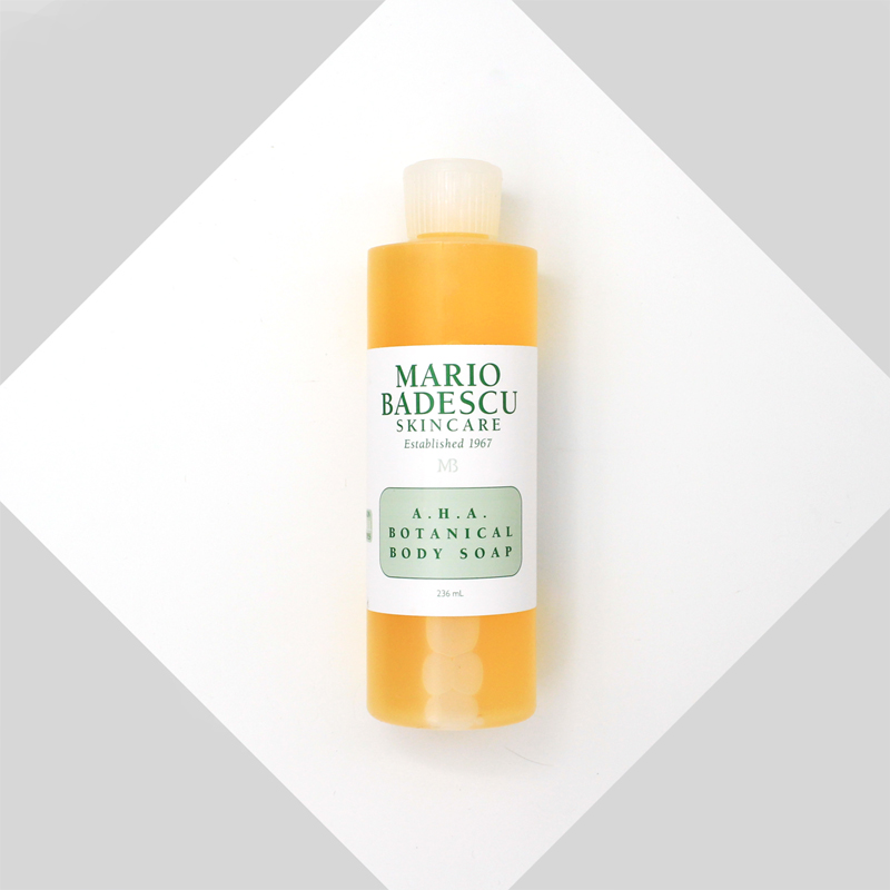 Mario Badescu A.H.A Botanical Body Soap Skin Care for ALL Skin Types 236ml крем gigi advanced peeling cream for all skin types