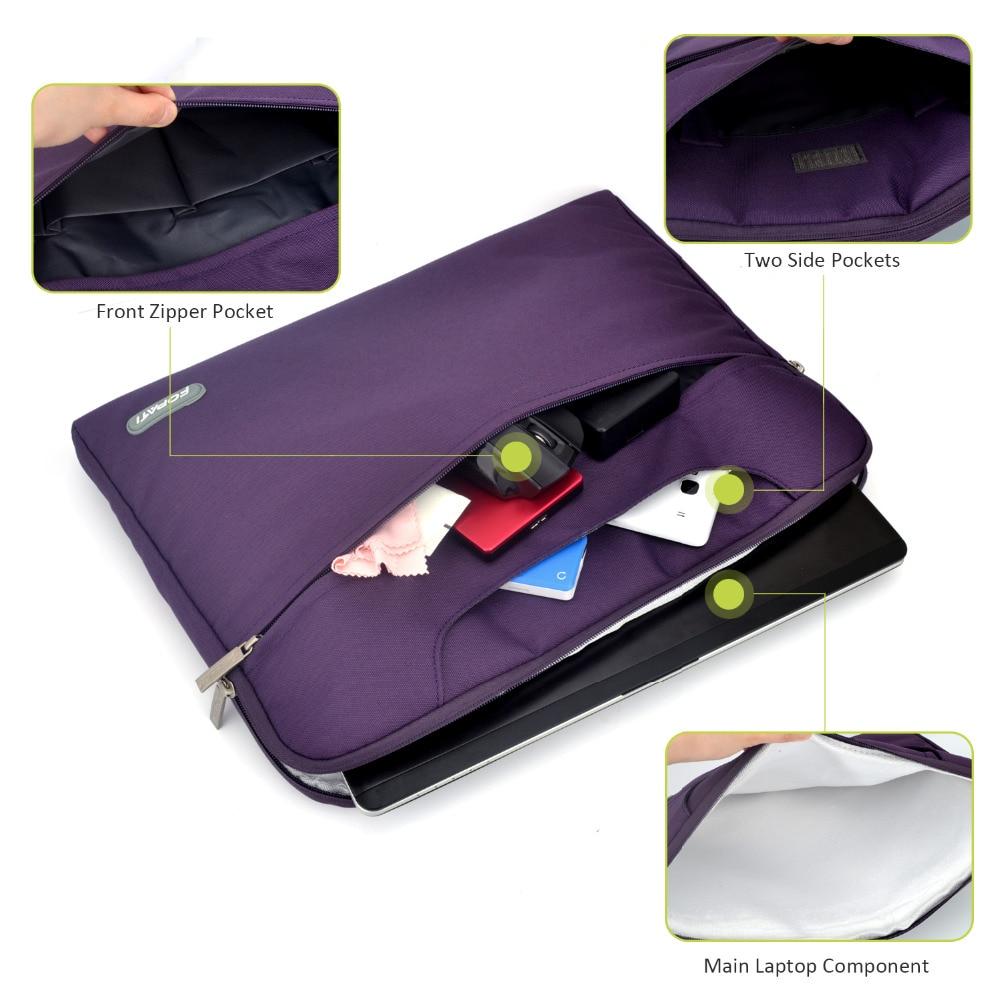 Wodoodporna torba na laptopa 15.6 15 14 13.3 11.6 Obudowa torba - Akcesoria do laptopów - Zdjęcie 4
