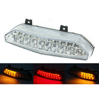 waase For Kawasaki GTR1400 Concours 14 2008 2009 2010 2011 2012 2013 2015 Tail Light Brake Turn Signals Integrated LED Light