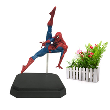 лучшая цена BDS Amazing Statue Spider-Man Spider Man PVC Action Figure Collectible Model Toy Christmas Gift Kids  Toys