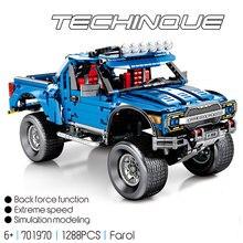 Technic Series 701970 New The F-150 Raptor Pickup Model Building Blocks Set Classic Toys For Children