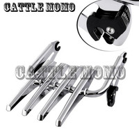 Motorcycle Detachable Stealth Luggage Rack For Harley Electra Glide Road King Street Glide Touring 09 16