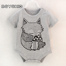 Bodysuits 0-3 Months Solid Cotton Baby Bodysuit Baby Boy Bodysuit Birthday Twins Baby Boy Bodysuits Short Sleeve