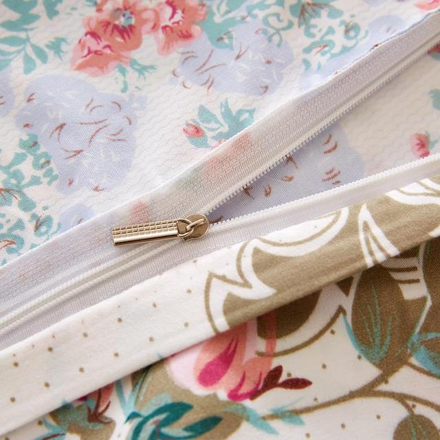 Flower Design Bedding Set