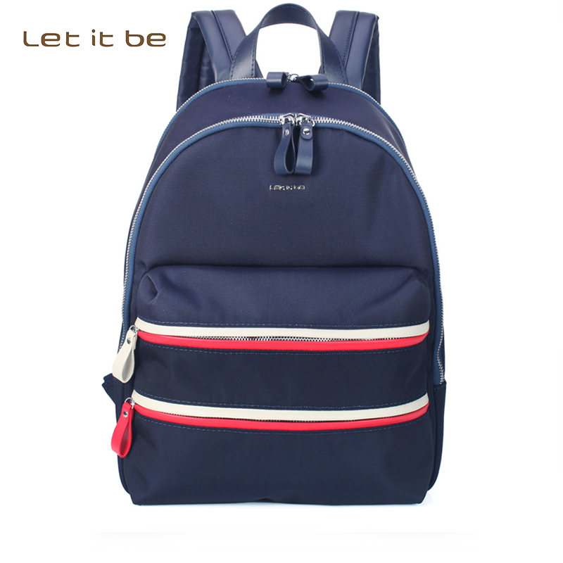 Let It Be Fashion Oxford Nylon Canvas  School Backpack  Casual Laptop bag for teenager&women rauf kuliyev let it be so a