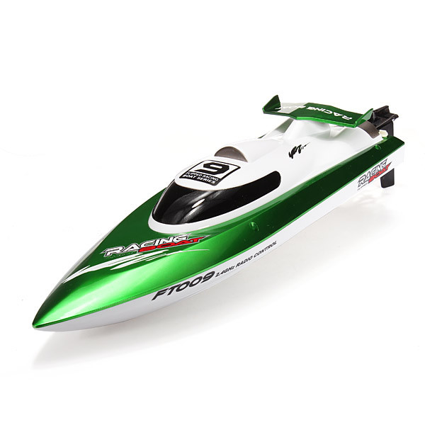 F15716 /17 FT009 2.4G 4CH High Speed Racing Flipped RC Boat Electric Remote Control Speedboat Water Cooling Motor System 35KMH
