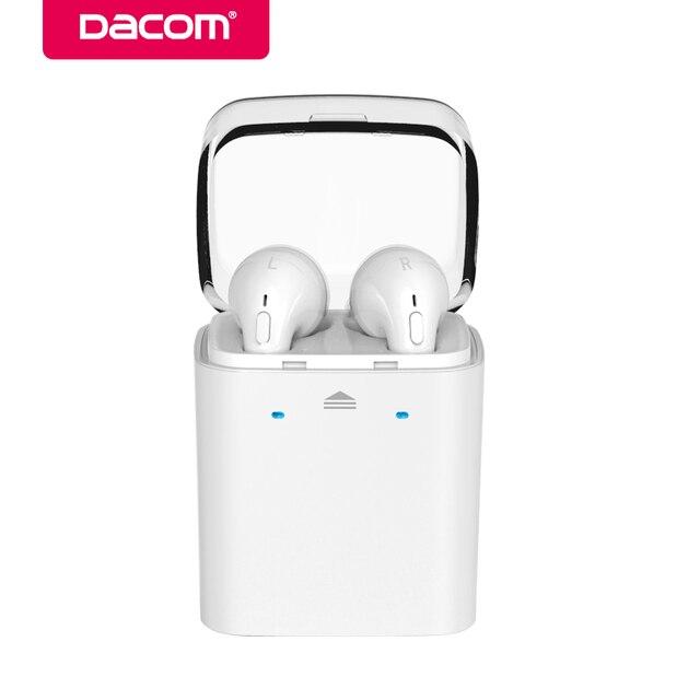 DACOM GF7tws 4.2 динамик громкой связи Функция шумоподавления наушники гарнитура Беспроводная Bluetooth наушники для телефона