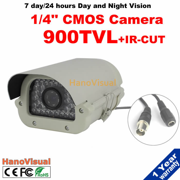 ФОТО 35IR Led Night Vision Surveillance Camera Waterproof IRCUT Filter Security Camera Outdoor 900tvl CMOS Sensor IR CCTV Camera