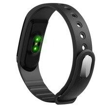 ID101 Smart Монитор сердечного ритма браслет Bluetooth 4.0 Водонепроницаемый Спортивный Браслет фитнес-трекер для Android для IOS