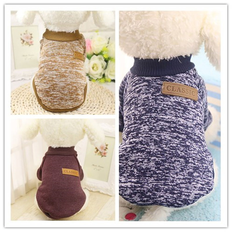 Cute Lovely Charming 3 Color Pet Dog Puppy Classic Sweater