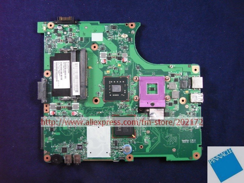 V000148330 MOTHERBOARD FOR TOSHIBA Satellite L350  6050A2264901 TESTED GOOD nokotion sps v000198120 for toshiba satellite a500 a505 motherboard intel gm45 ddr2 6050a2323101 mb a01
