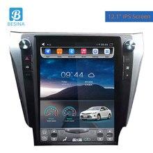 Besina 12,1 дюймов Android 6,0 автомобиль радио для Toyota Camry 2012 мультимедийный плеер gps навигации HIFI 2 г + 32 стерео Авто Аудио