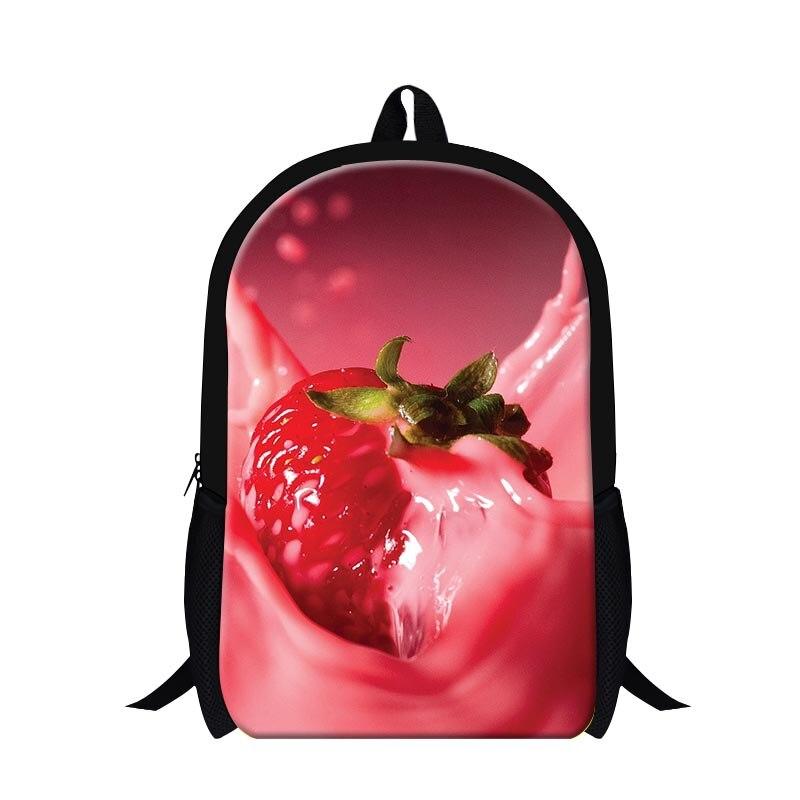 Aliexpress.com : Buy Cute bookbags for children,fruit print girly ...