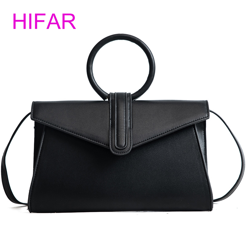 New 2018 Retro Vintage Women's Leather Handbag Tote Trendy Shoulder Bags Messenger bag fashion design hot sale lady purse