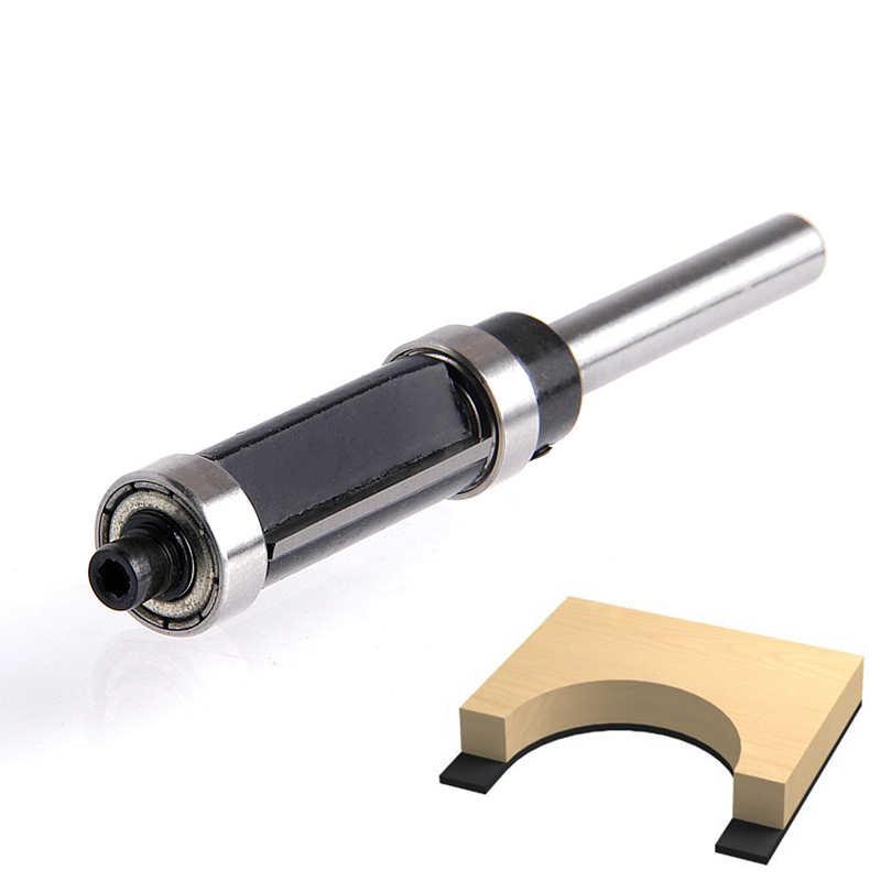 RCT דפוס/סומק Trim נתב קצת 1/4 ''שוק למעלה & תחתון נושאות עץ קאטר 1pc עבור פרקט סיבית נגרות כלים