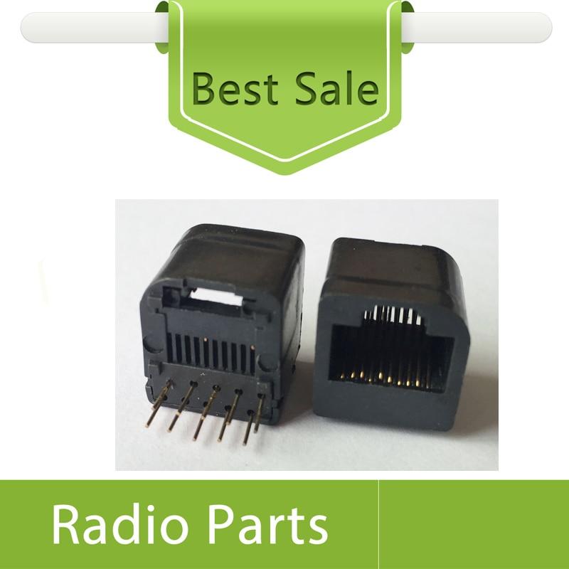 bilder für 10x mikrofon buchse buchse für motorola gm338 fahrzeug radios