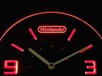 Cnc0196 Nintendo Illuminated 3D Neon LED Clock
