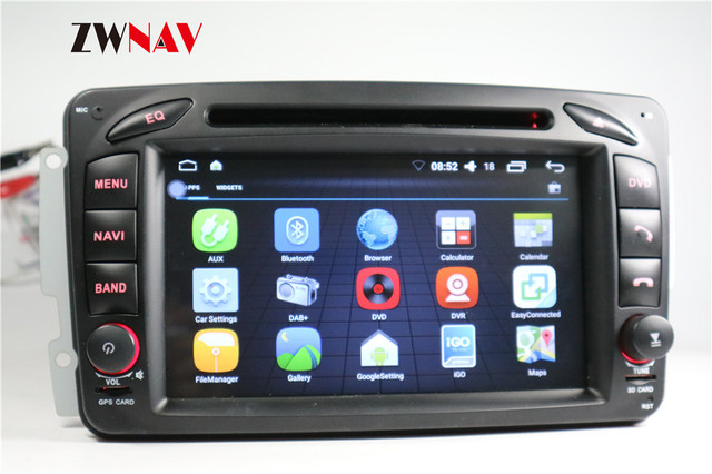 Aliexpress com : Buy Android 7 1 Car DVD Player GPS Navigation Head Unit  For MERCEDES BENZ Vito Viano A W168 C W203 CLK C209 W209 G W463 from  Reliable