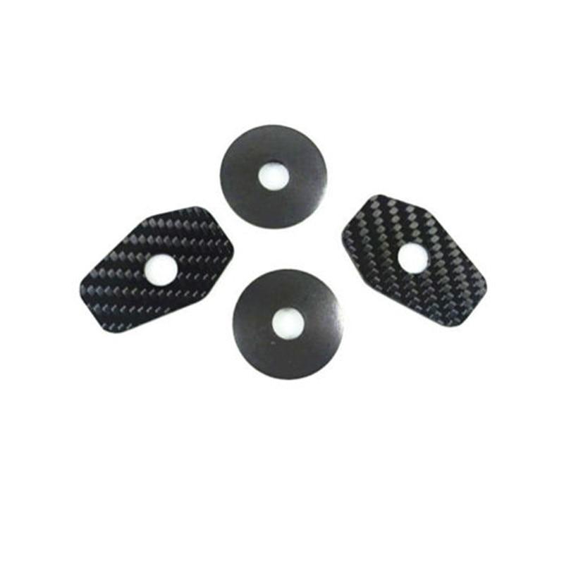4pcs Turn Signal Adapter Plates for SUZUKI GSXR SV650S SV1000S Bandit 600 1250