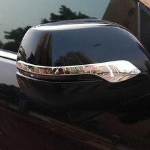 Alijund capa para espelho lateral de abs, cromado, para honda crv pçs/set CR-V 2012 2013