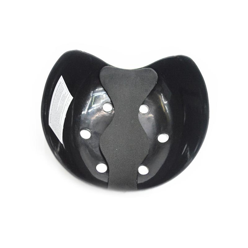 Outdoor Safety 6-hole Bump Cap Insert For Baseball Caps (Black)