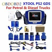 Original XTOOL PS2 GDS Gasoline Diesel Version Professional Car Diagnostic Tool PS2 GDS Free Update Online
