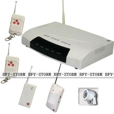 3-bands Home Wireless ALarm System GSM/CDMA SMS Control