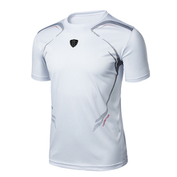 2018 NEW Brand Men's tshirt Quick Dry Breathable T-shirts men Soccer Jersey running Jogging Shirt sports Slim Fit custom t-shirt