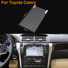 Car Styling 8 Inch GPS Navigation Screen Steel Protective Film For Toyota Camry Control of LCD Screen Car Sticker