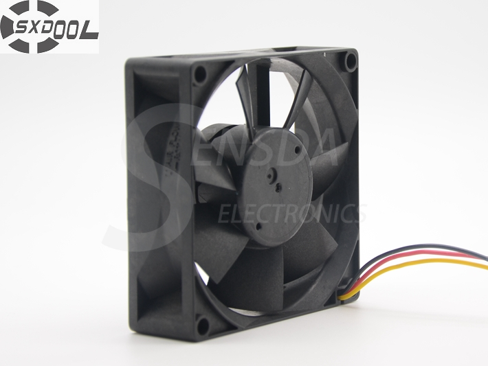SXDOOL MMF-08C24DS RC3 80*80*25 mm DC 24V 0.12A server Cooling Fan sxdool mds410 24 40 40 10mm dc 24v 0 09a fan silent server cooling fan