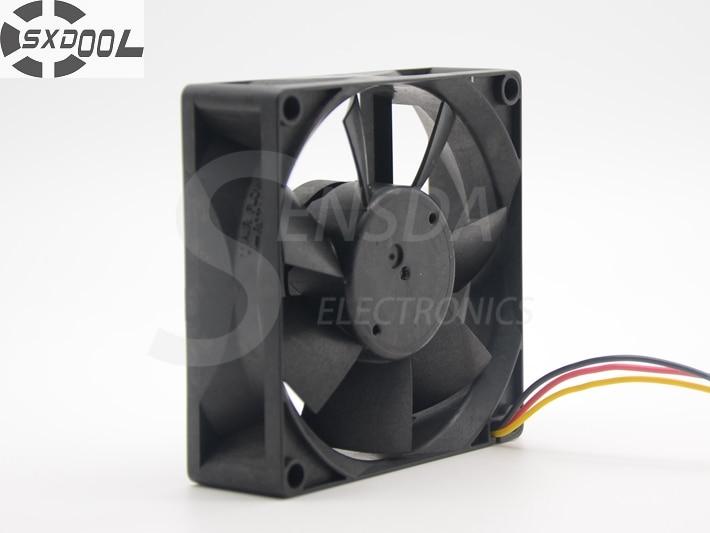 SXDOOL MMF-08C24DS RC3 80*80*25 Mm DC 24V 0.12A Server Cooling Fan