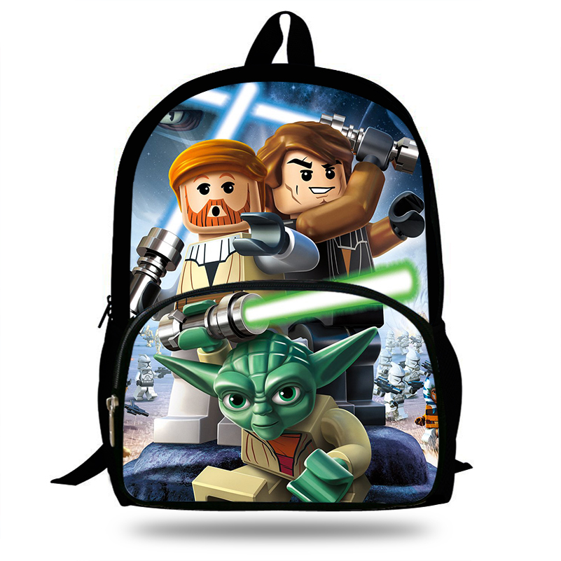 New Designer Children School Bags Cool High Student Boys Laptop Backpack Star Wars The Video Game Print Kids Bookbag For teenage image