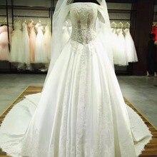 Fsuzwel Vestido de Noiva A-Line Wedding Dresses 2019