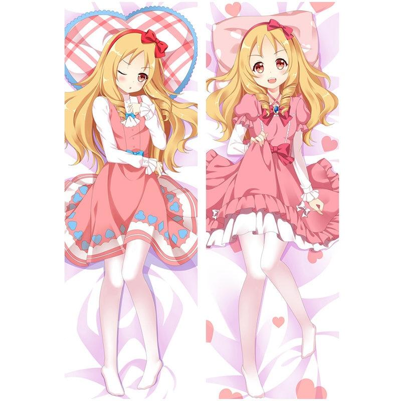 Anime Eromanga Sensei Pillow Cover Izumi Dakimakura Case Cool Boy 3D Double-sided Bedding Hugging Body Pillowcase Customize ES01