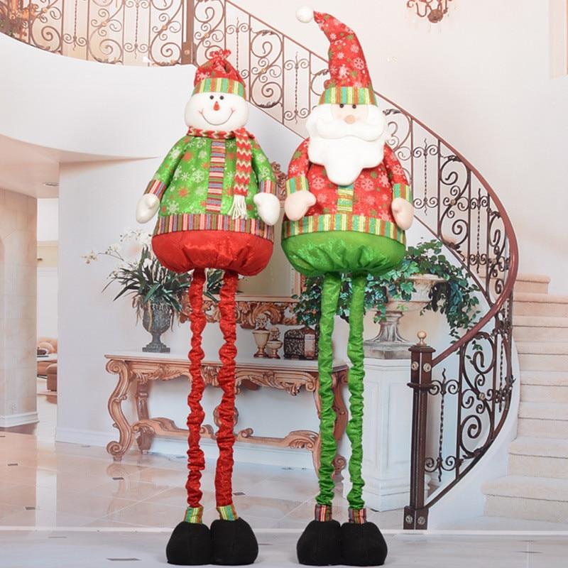 Buy hot sale large santa claus snowman for Xmas decorations online