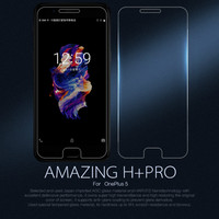 10pcs Lot Wholesale NILLKIN Amazing H PRO Anti Explosion 9H Tempered Glass Screen Protector For Oneplus