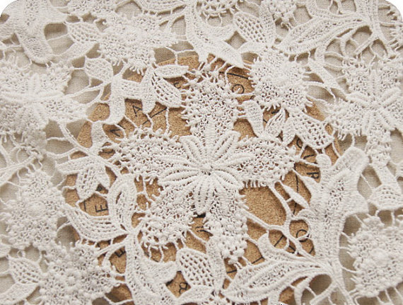 White Wedding Lace Fabric Chic Solid Lace Fabric Supplies Bridal Lace Fabric fabric by yard