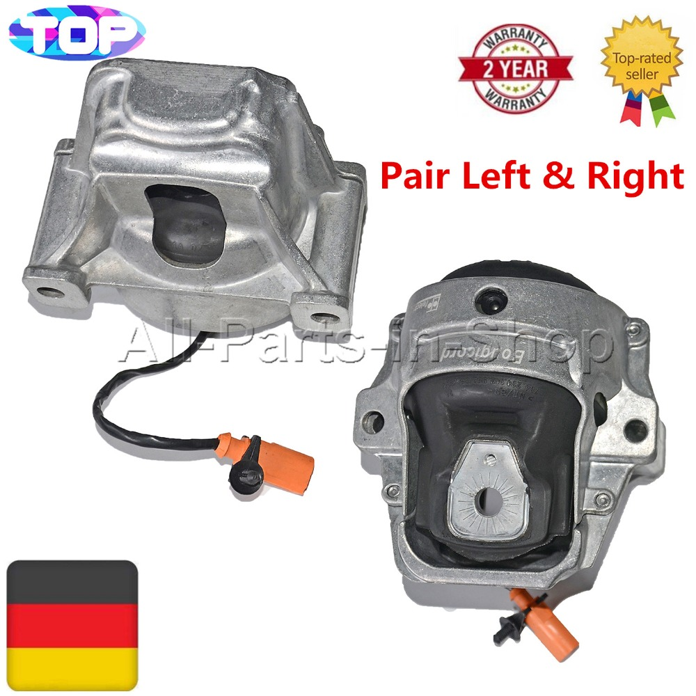 I8K0199381GQ I8R0199381E I8R0199381C For Audi A4 A5 Q5 Quattro 1.8 2.0 TDI Pair Engine Mounting/Bearing Brand New e2c free shipping new radiator engine cooling fan for audi a4 quattro a4 oe 8e0 959 455k 8e0959455k