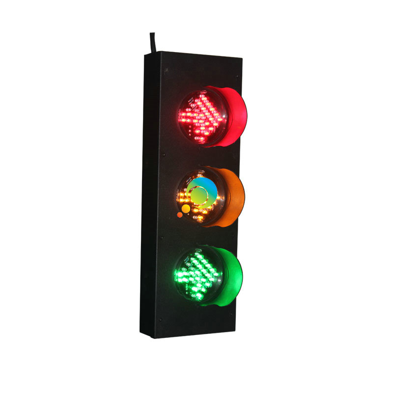High Brightness Factory Price Exclusive 100mm Red Green Yellow Arrow Signal LED Traffic Light
