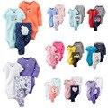 2017 новорожденных детская одежда набор, дети мальчик девочка детская одежда мальчиков, ropa bebes детское приданое Одежда Наборы roupa infantil