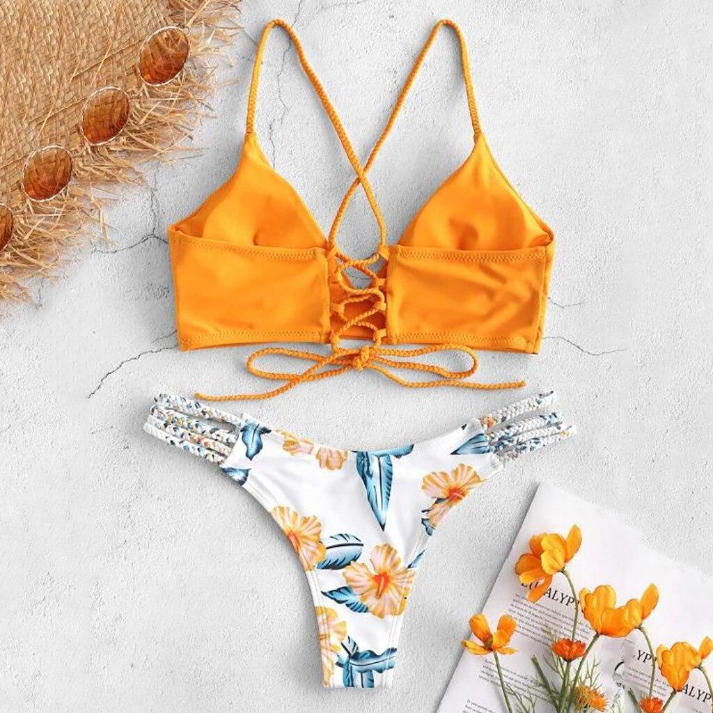 HTB1zIJ5XlKw3KVjSZTEq6AuRpXaZ Sexy Bikinis Women 2019 Micro Bikini Set Push Up Cut Flower Two Piece Swimsuit Female Bandage Swimwear Bathing Suit Biquini