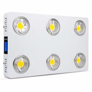 Luz led para cultivo de plantas de espectro completo regulable CREE COB CXB3590-X6 II 600W 72000LM = HPS 1000W para iluminación de crecimiento de plantas de interior