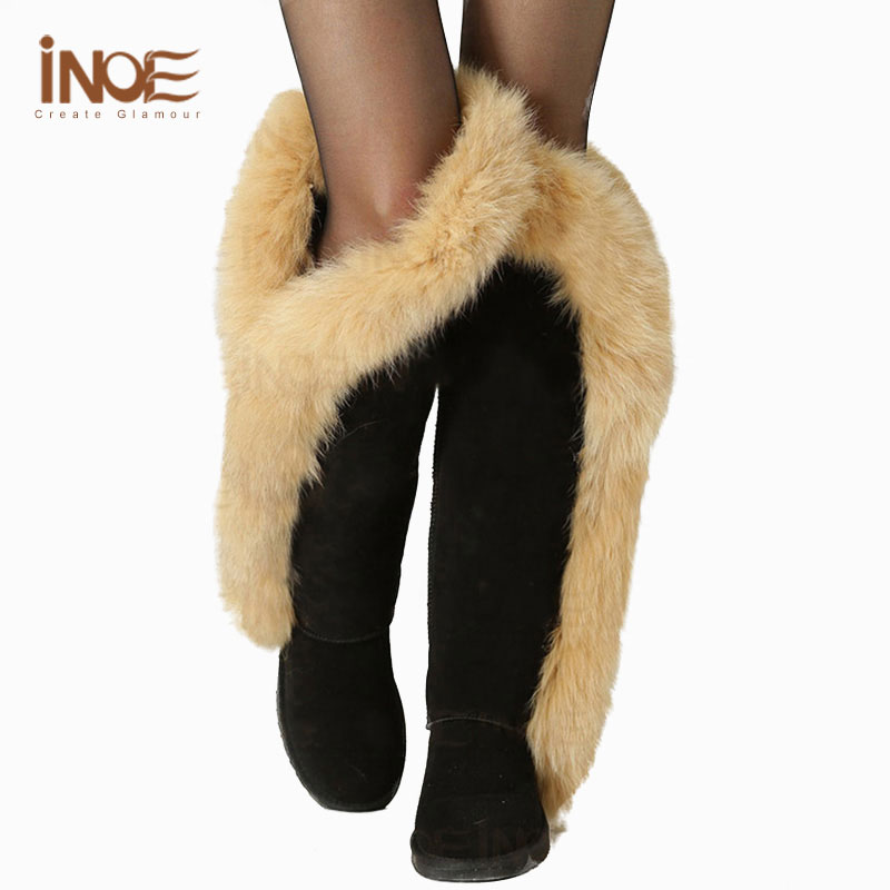 Popular Real Leather Thigh High Boots-Buy Cheap Real Leather Thigh ...