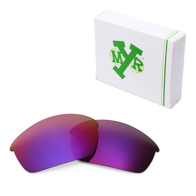 MRY POLARIZADA Lentes de Reposição para óculos Oakley Flak Jacket Sunglasses Sol Da Meia Noite