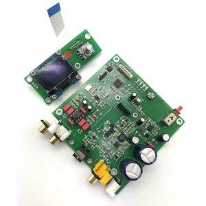 Image 2 - ES9038 Q2M I2S DSD Decoder Coaxial Fiber Input DAC Decoding Board HIFI Audio Amplifier Board F7 003