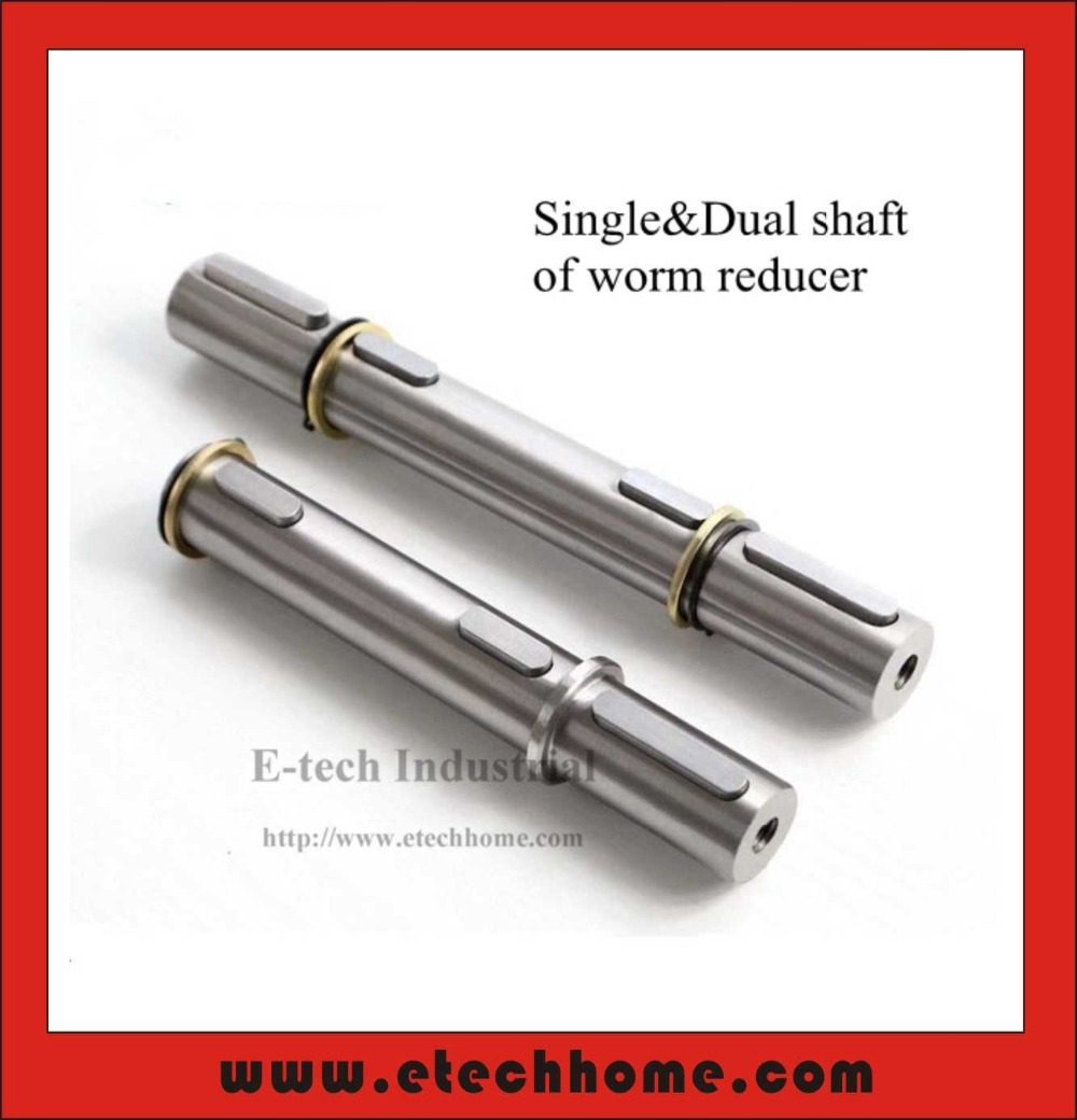 3pcs/lot! Dual Output Shaft for Worm Reducer NMRV030 Double Shaft on Both Sides
