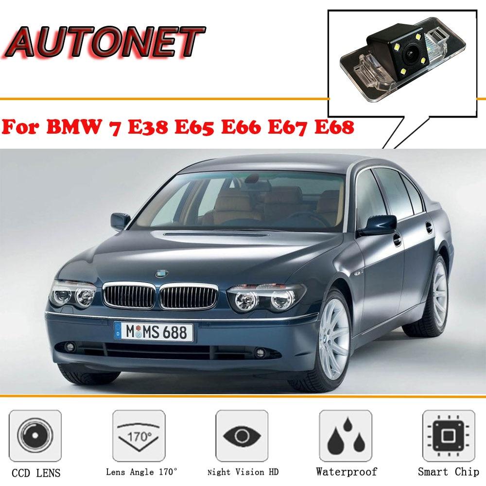 AUTONET Rear View Camera For BMW 7 Series E38 E65 E66 E67 E68/CCD/Night Vision/Reverse Camera/Backup Camera/license Plate Camera